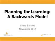 SIS Nov 18, 2017 Backwards Planning Teachers